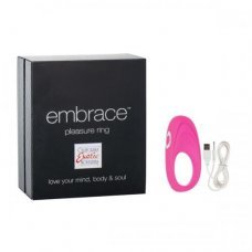 Виброкольцо Embrace pleasure rings розовое 4616-05BXSE