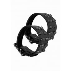 Браслеты Ouch! Skulls and Bones Black Spikes SH-OU285BLK
