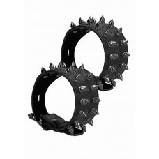 Браслеты Ouch! Skulls and Bones Black Spikes SH-OU288BLK