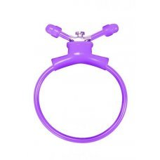Утягивающее лассо Adjustable Cockring Purple SH-SHT156PUR